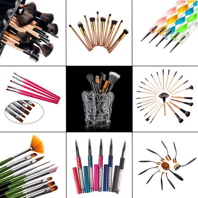 Кисти для наращивания ногтей и для росписи рисования