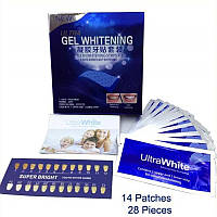 Отбеливатель зубов Ultra Gel Whitening, отбеливающие полоски для зубов