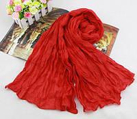 Женский жатый шарф   CC7030