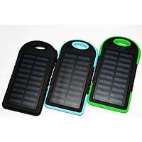 Мобильная зарядка POWER BANK Solar+Led 10800mAh UKC