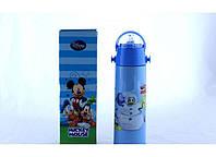 Термос для мальчика zk g 604 500ml. Blue, детский термос с поилкой