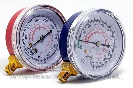 Манометр низкого давления CH-250 (R-12/22/502)