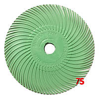 3M 30132 Scotch-Brite™ Bristle RB-ZB - Радиальная щетка 76х9 мм, 1 мкм, светло-зеленая
