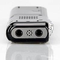 Диктофон цифровой 8 Gb памяти, функция VOX, запись до 650 часов