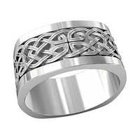 Кольцо серебряное Кельтский орнамент 700510