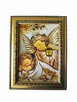 Картина из янтаря Ангелы (Картины и иконы из янтаря)