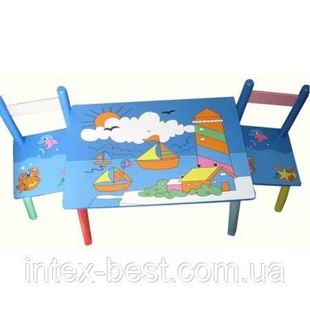 Детский столик со стульчиками E03-2100, фото 2