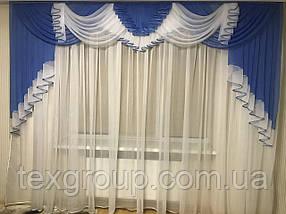 Ламбрекен шифоновый лёгкий воздушный 3м №178, фото 2