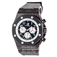Классические мужские часы Audemars Piguet Royal Oak Offshore All Black-White (механические)