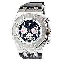 Классические мужские часы Audemars Piguet Royal Oak Offshore Black/Silver/Black (механические)