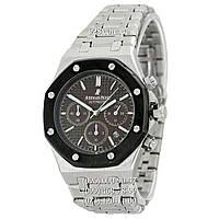Элитные мужские часы Audemars Piguet Royal Oak AA Silver/Black/Brown (кварцевые)