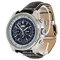 Элитные мужские часы Breitling for Bentley Automatic Black/Silver/Black (механические)