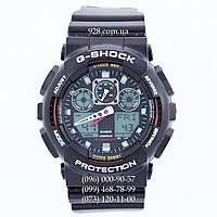 Спортивные мужские часы Casio G-Shock GA-100-1A4ER AAA (кварцевые)