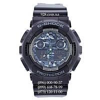 Спортивные мужские часы Casio G-Shock GA-100CB-1AER AAA (кварцевые)