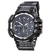 Спортивные мужские часы Casio G-Shock GW-A1100 Black-Silver (кварцевые)