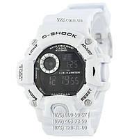 Спортивные мужские часы Casio G-Shock GW-9400 White (кварцевые)