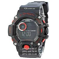 Спортивные мужские часы Casio G-Shock GW-9400 Black-Orange (кварцевые)