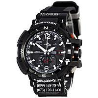 Спортивные мужские часы Casio G-Shock AAA GW-A1100 Black-White (кварцевые)