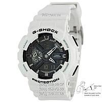 Спортивные мужские часы Casio G-Shock AAA GA-110GW-7AER White-Black Autolight (кварцевые)