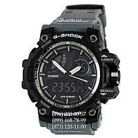 Спортивные мужские часы Casio G-Shock GWG-T1000 Black-Gray Wristband (кварцевые)