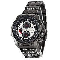 Спортивные мужские часы Casio Edifice 8218 Black-Black (кварцевые)