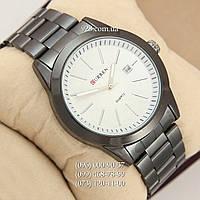 Классические мужские часы Curren BUSSINES 8091 Black/White (кварцевые)
