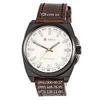 Классические мужские часы Curren Classico 8168 Black/White (кварцевые)