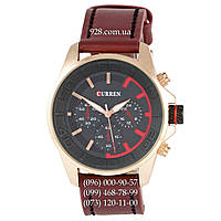 Классические мужские часы Curren Style 8187 Gold-Grey (кварцевые)