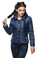 Женская куртка короткая весна-осень, фото 1