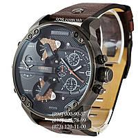Элитные мужские часы Diesel Mr Daddy 2.0 DZ7315 Brown/Black (кварцевые)