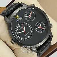Классические мужские часы Ferrari Men All Black (кварцевые)