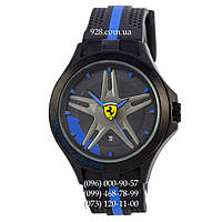 Классические мужские часы Ferrari Scuderia Sport Black/Black/Blue (кварцевые)