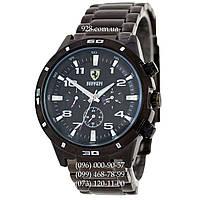 Классические мужские часы Ferrari Mechanic Black-White (механические)