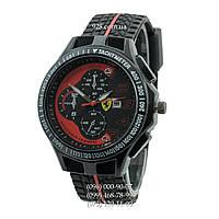 Классические мужские часы Ferrari 2742 Inter Corsa Black-Red (кварцевые)