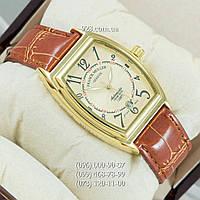 Классические мужские часы Frank Muller Browm/Gold/Gold (механические)