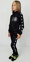 Чёрный спортивный костюм для девочки Converse