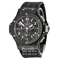 Часы мужские Hublot Chronograph Ceramica All Black (кварцевые)