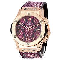 Мужские часы Hublot Classic Fusion Snake Women Quartz Pink (кварцевые)