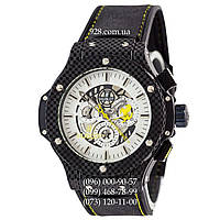 Мужские часы Hublot Big Bang Ferrari Automatic Black-Yellow/White (механические)