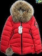 Женская молодежная зимняя куртка  Fine Baby Cat, P.p M-3XL