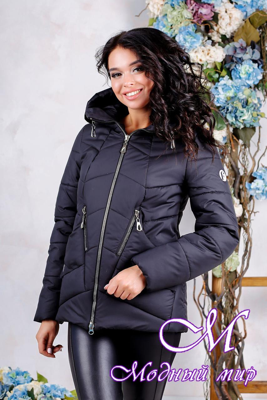 Женская стильная осенняя куртка (р. 44-56) арт. 1011 Тон 21