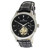 Элитные мужские часы Jaeger-LeCoultre Master Control Grand Tourbillon Silver/Black (механические)