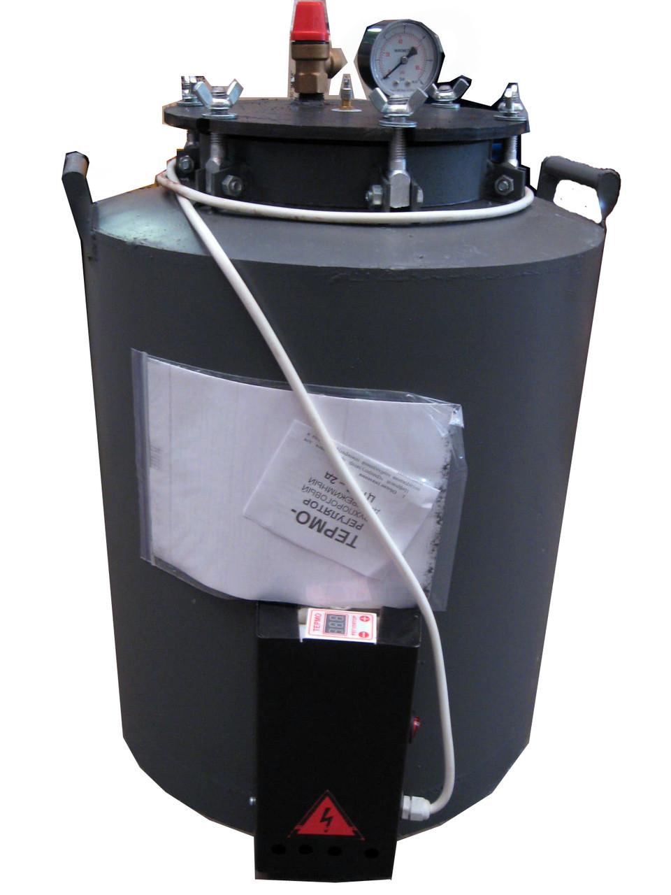 Автоклав электрический на болтах для домашнего консерви (16 литровых и 24 поллитровых банок) Харьков