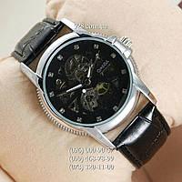 Классические мужские часы Omega Silver/Black (механические)