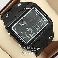 Классические мужские часы O.T.S 6337 All Black (кварцевые)