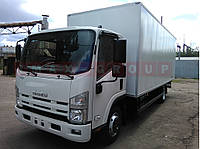 Isuzu NQR90 с промтоварным фургоном