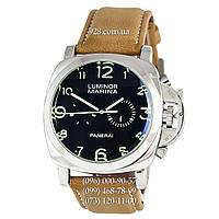 Классические мужские часы Panerai Luminor 1950 Marina 3 Days Brown/Silver/Black-Green (механические)
