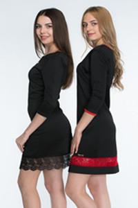 Платья с длинным рукавом , туники