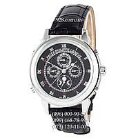Классические мужские часы Patek Philippe Grand Complications 5002 Sky Moon Black/Silver/Black (механические)