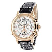Классические мужские часы Patek Philippe Grand Complications 5002 Sky Moon Black/Gold/White (механические)